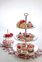 3 Tier Cake Stand - Silver Plated