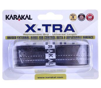 Karakal X-TRA black replacement grip