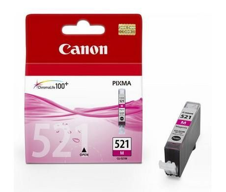 Original Canon CLI-521 Magenta Ink Cartridge