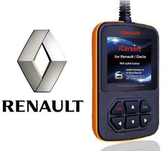 iCarsoft Renault Multi-System Scan Tool i907 - Online Update