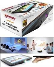 Promate lumiTab Tablet PC with Built-in DLP LED Projector