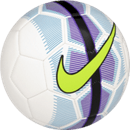 Nike Mercurial Veer soccer ball with volt