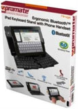 Promate Mirage iPad Ergonomic Bluetoothǽ¶? Keyboard Stand with Phone Handset - Zasttra.com