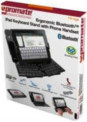 Promate Mirage iPad Ergonomic Bluetoothǽ¶? Keyboard Stand with Phone Handset