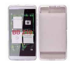 Clear Matte Protective Cover Case for BlackBerry Z10
