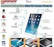 Promate Primeshield.AIR Premium Ultra-Thin Tempered Optical Glass Screen Protector for iPad Air