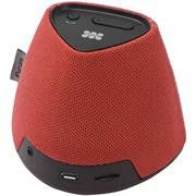 Promate Pyram Universal MiniHandsfree Bluetoothǽ¶? Speakers with MP3 Micro-SD Card Slot-Red Retail Box 1 Year Warranty