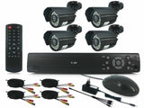 4 Channel HDMI DIY CCTV Kit with Internet & 3G Phone Viewing - Zasttra.com