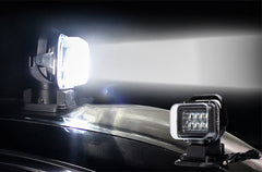 Car LED Search Light - 7 Inch 50W 3200 Lumens 10x 5W Cree XTE LEDs IP65 Splash Proof 360 Degree Rotation