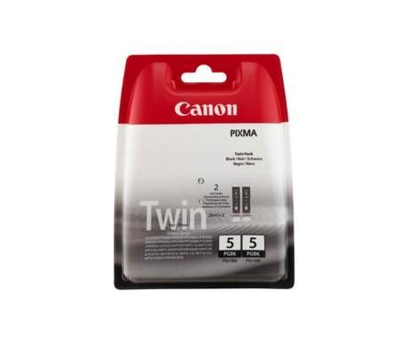 Original Canon PGI-5 Black Ink Cartridge - TWIN PACK