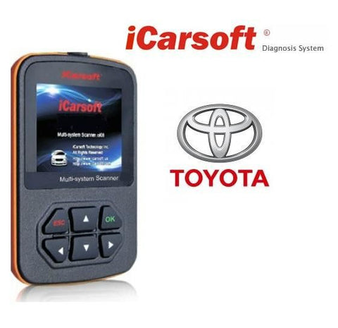 iCarsoft Toyota Scan Tool i905 - Online Update