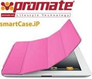 Promate SmartShell.1 Ultra-thin back contoured shell case for iPad2-Pink