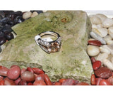 Silver Ring with CZ-Topaz stone - Zasttra.com