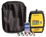 Goldtool Coax Cable Mapper 4 ID Finder with Toner-Handheld testing device designed for CATV and Security Installers