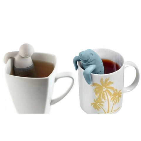 Tea Infuser Set - Manatee and Dude (2 for the price of 1)