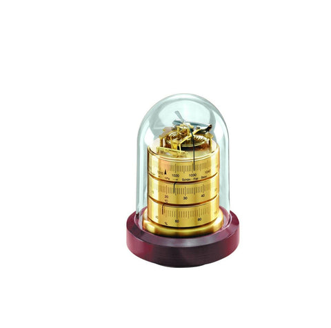 Barigo 3026 - Decorative Dome Weather Station (Brass)