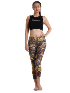 Bee Crop Leggings