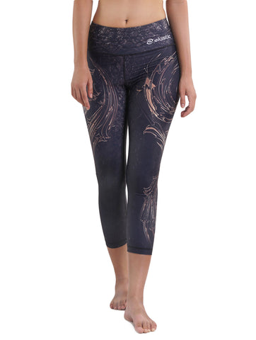 Circle Tribal Crop Leggings