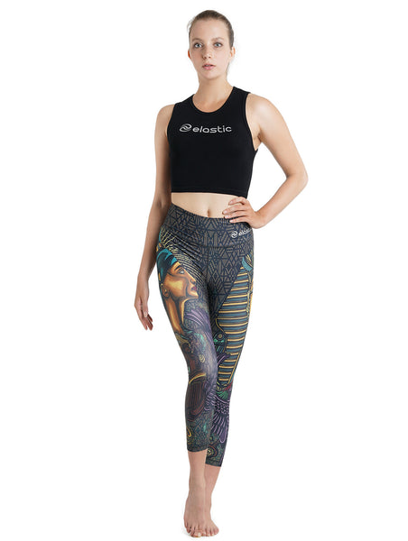 Egypt Crop Leggings