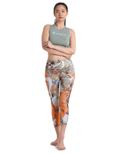 Fox Crop Leggings