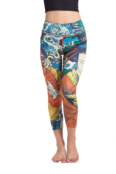 Geisha Crop Leggings