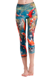 Koi Crop Leggings
