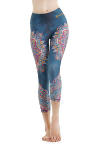 Mandala Crop Leggings