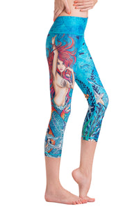 Mermaid Crop Leggings