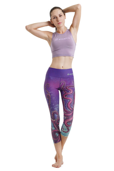 Octopus Crop Leggings