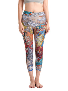 Samurai Crop Leggings