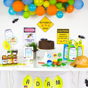 Creepy, Crawly Birthday Party