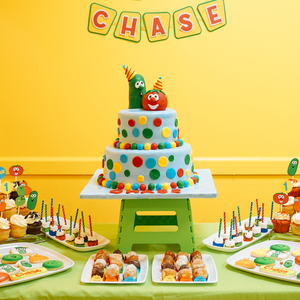 Chase's Veggie Tales First Birthday Party