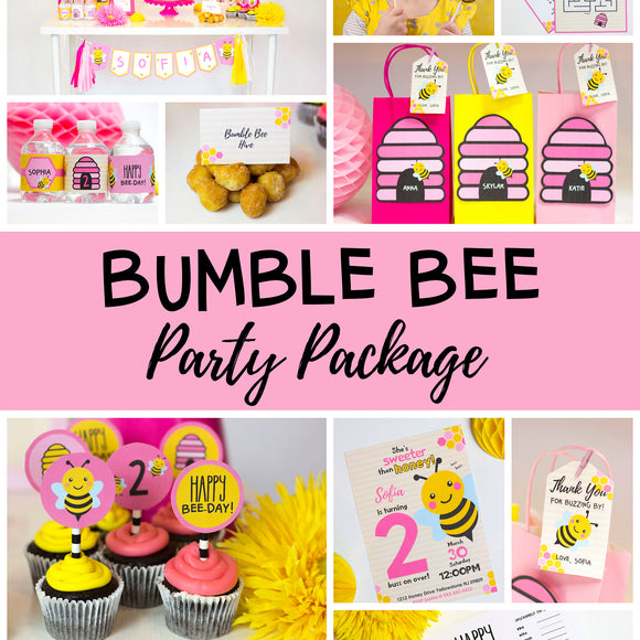 Bumble Bee Party Package