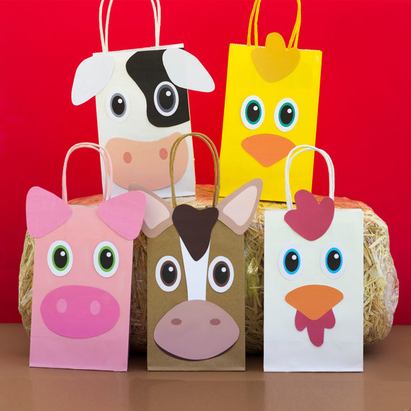 Farm Animals Favor Bag