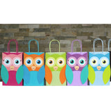 Owl Favor Bag and Thank You Tag
