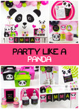 Party Like a Panda Party Package