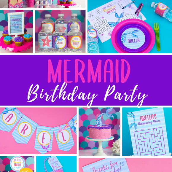 Mermaid Party Package