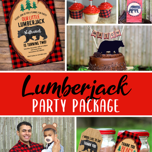 Lumberjack Party Package