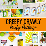 Creepy, Crawly Critter Party Package