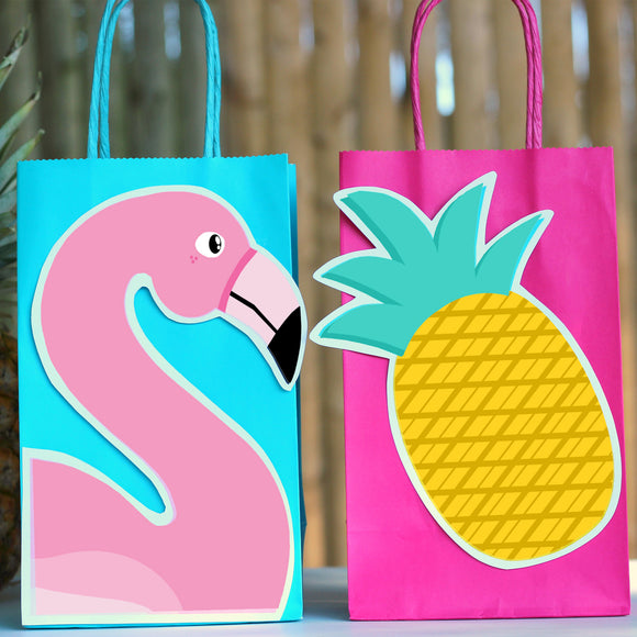 Flamingo Favor Bag