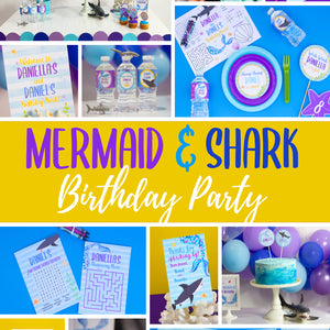 Mermaid Vs. Shark Party Package