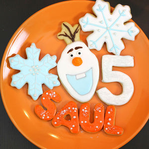 Olaf Cookie Cutter Template