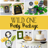 Let the wild rumpus begin!! Decorate your King of the Wild Things party with these templates. Some of the the designs in this package can be personalized with your child's name and/or age.