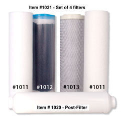 Replacement Filters for 6-Stage Purifier #5011