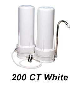200CT White - Double Housing Counter Top Water Purifier
