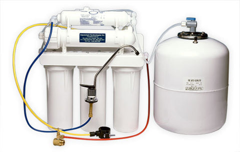 Item #5011 6-stage System (5-stage Reverse Osmosis plus Alkaline Filter)