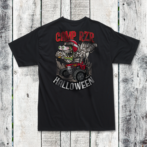 "Camp RZR ""Halloween Mummy"" T-shirt"