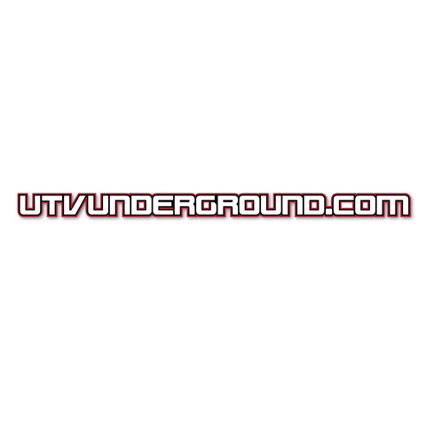 UTVUnderground Roll Bar Sticker