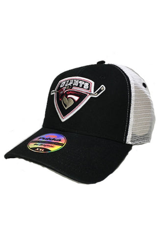 Pukka Stretch Fit Mesh Back Logo Hat