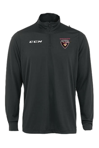CCM Training 1/4 Zip Top